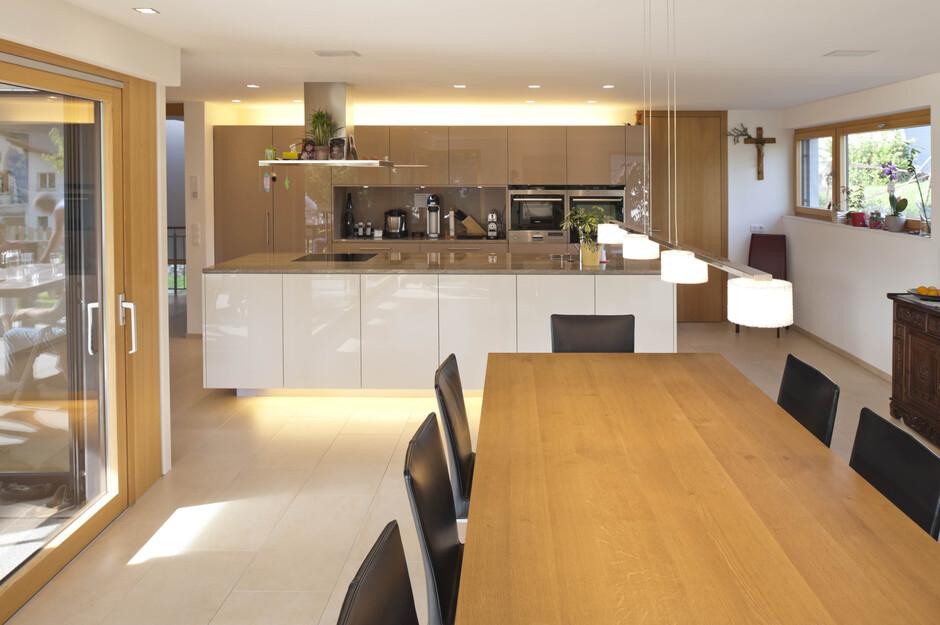Modernes einfamilienhaus satteins massivbau moderne Living wohnen
