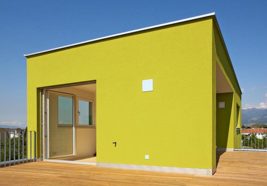 doppelhaus feldkirch terrassen putzfassade holzterrasse innenarchitektur drei geschosse. Black Bedroom Furniture Sets. Home Design Ideas