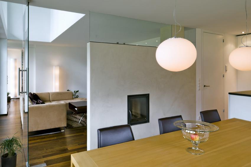 Einfamilienhaus dornbirn s ulen modern flachdach for Doppelgarage modern