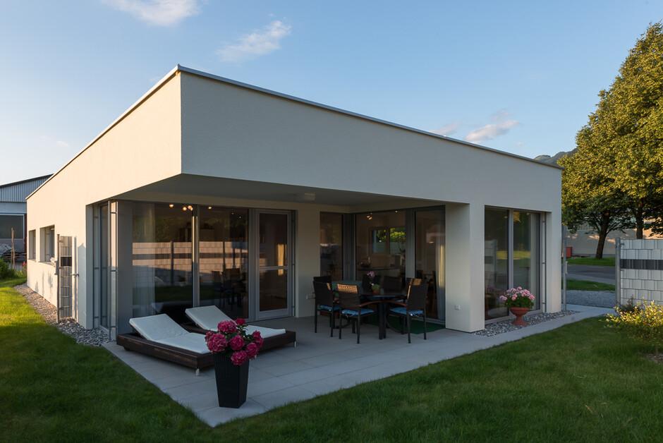 Einfamilienhaus Modern einfamilienhaus modern massivbau moderne architektur flachdach